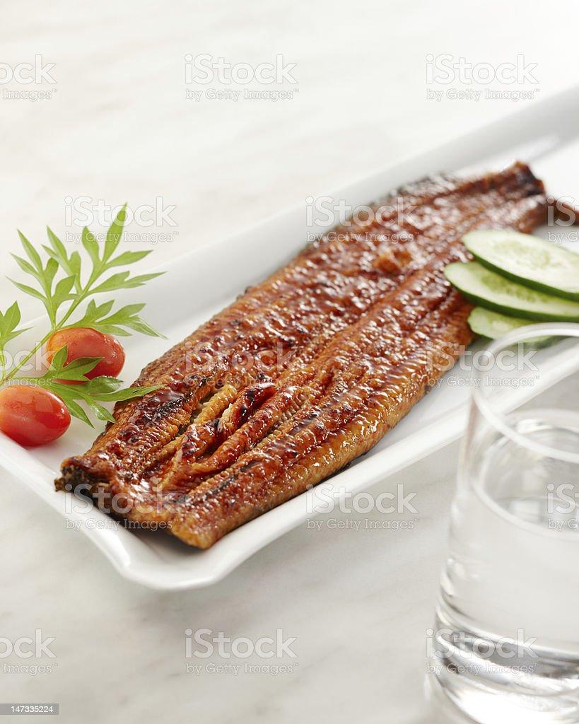 eel unagi stock photo