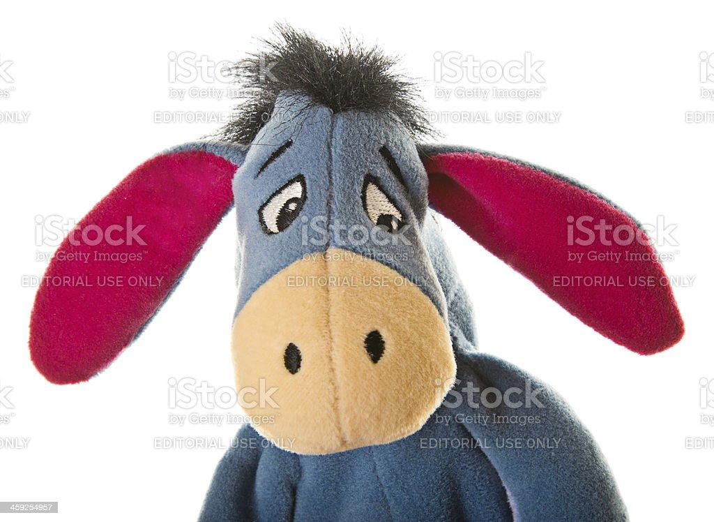 Eeyore Donkey from Winnie-the-Pooh stock photo