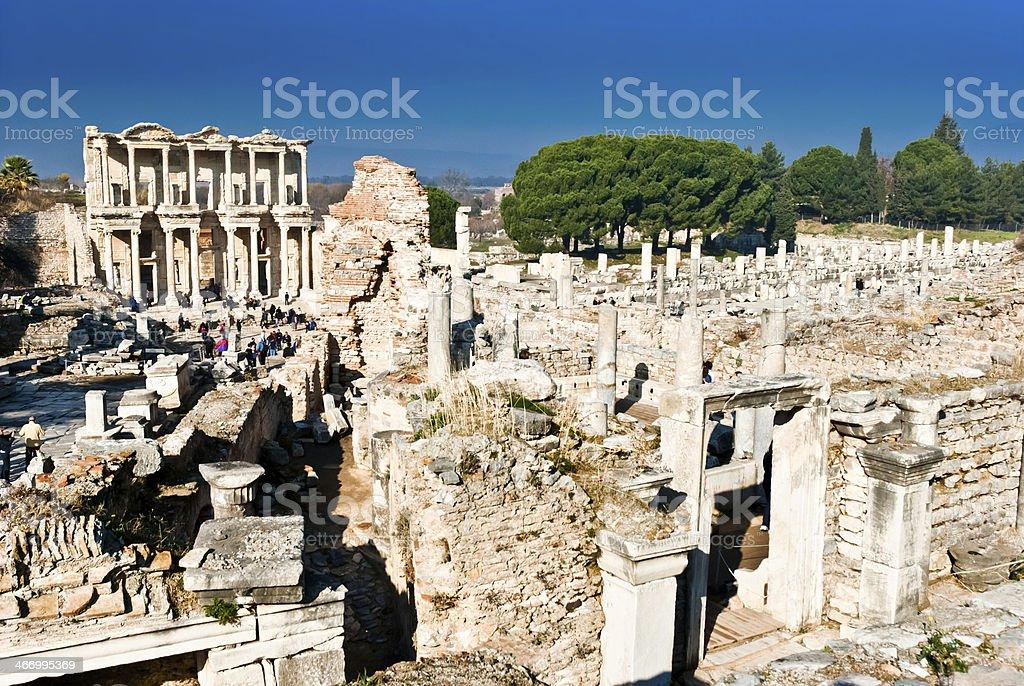 Efes in Turkey royalty-free stock photo