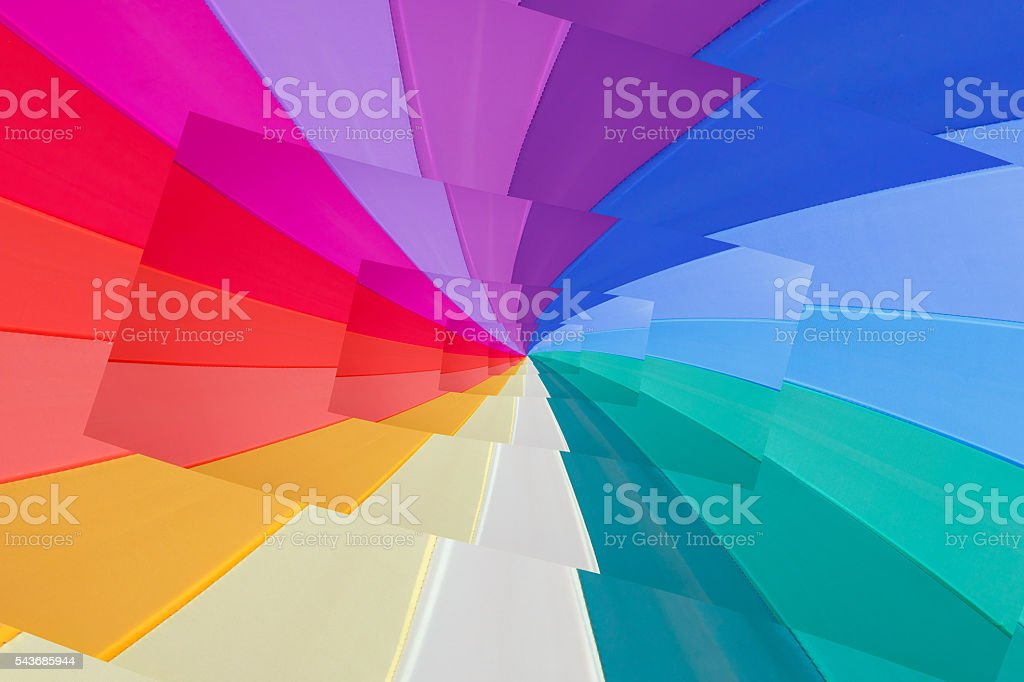 effect droste of vortex of colours stock photo