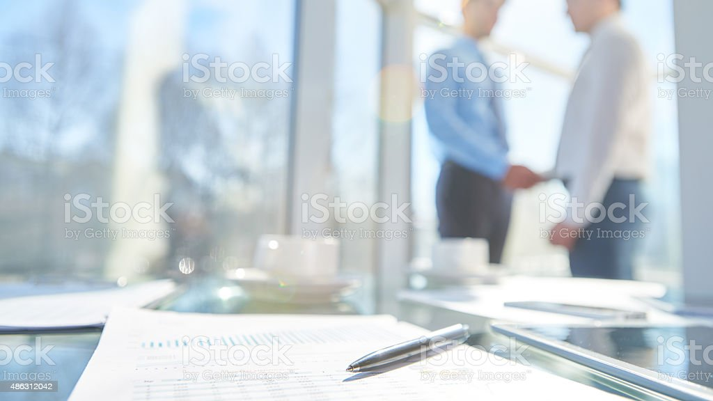 Effective meeting stock photo