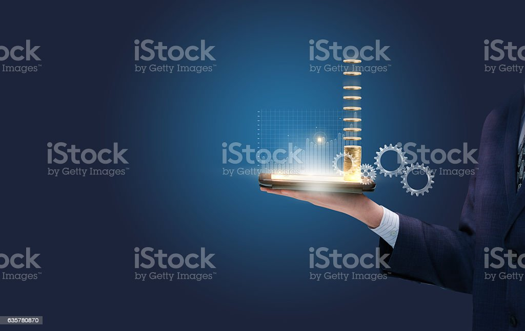 Effective strategy to trade. stock photo