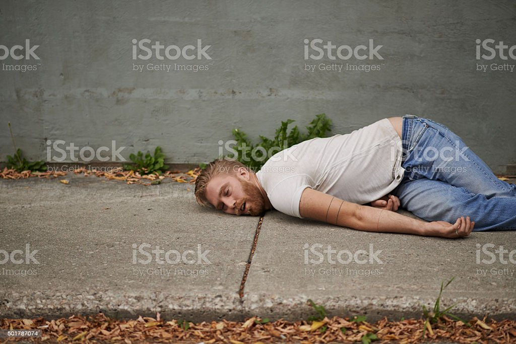 Effects of heavy drinking stock photo