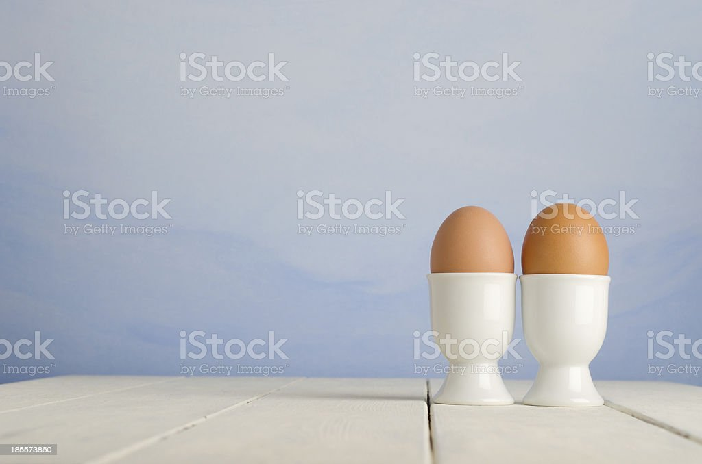 Egg Breakfast for Two stock photo