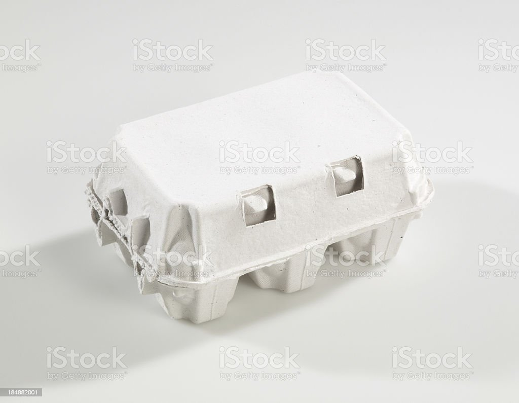 Egg carton stock photo
