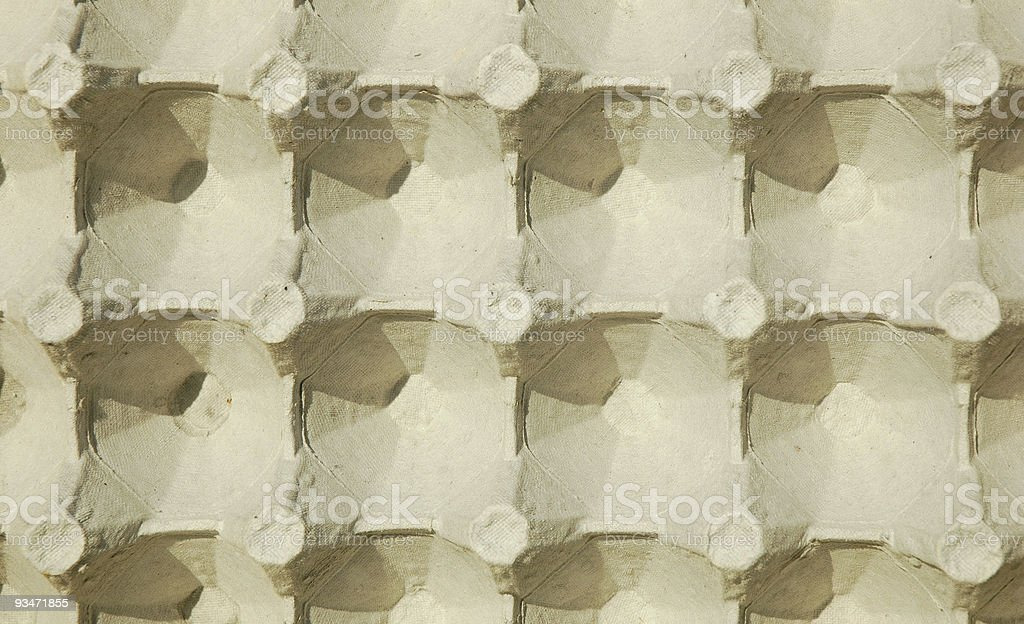 Egg Carton royalty-free stock photo
