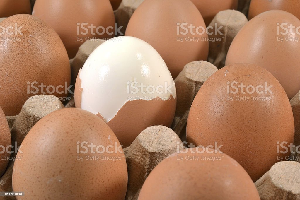エッグカートン、卵ます。 ロイヤリティフリーストックフォト