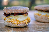 egg, cheese, and bacon mcmuffin