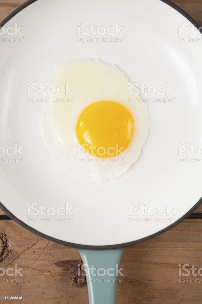 Egg close up royalty-free stock photo
