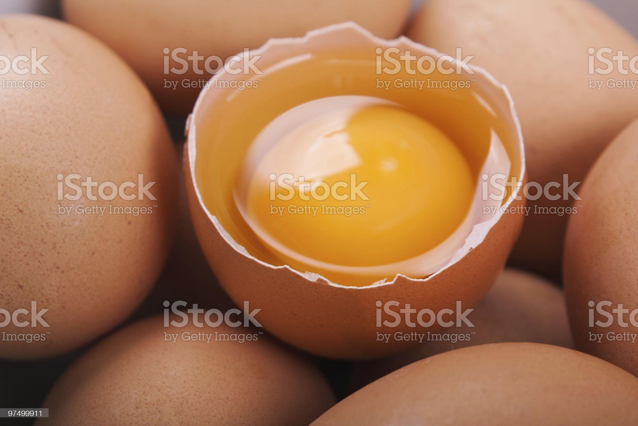 Egg food royalty-free stock photo