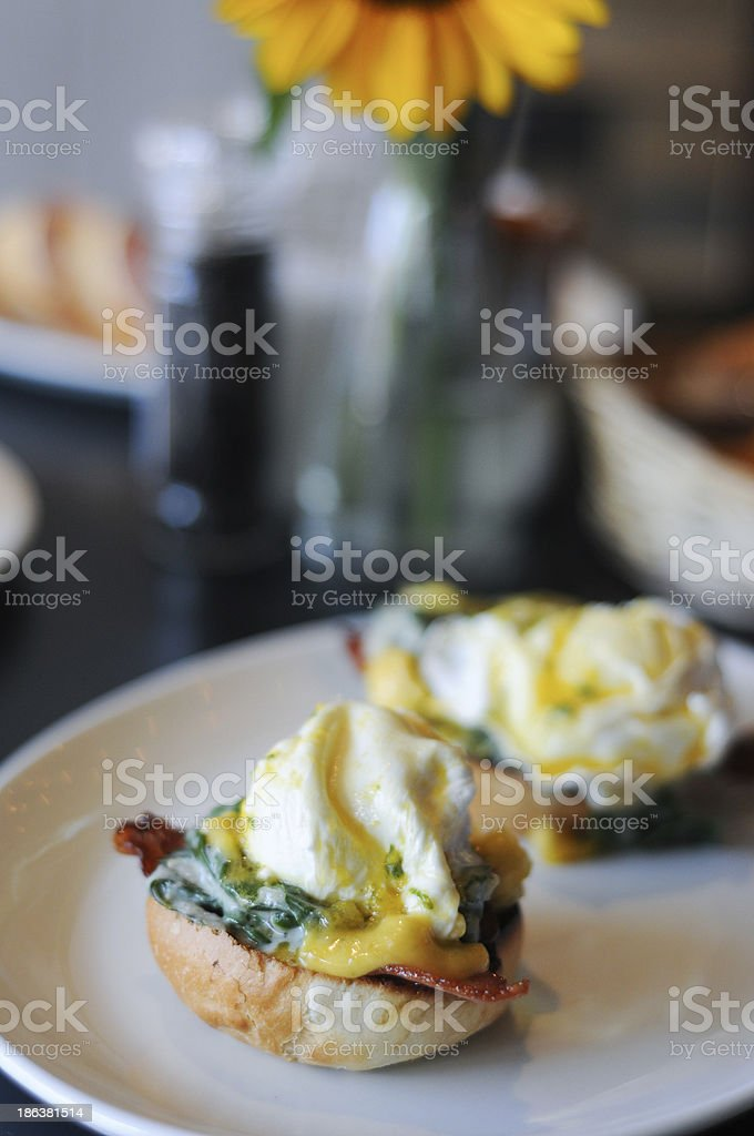 Egg muffin royalty-free stock photo