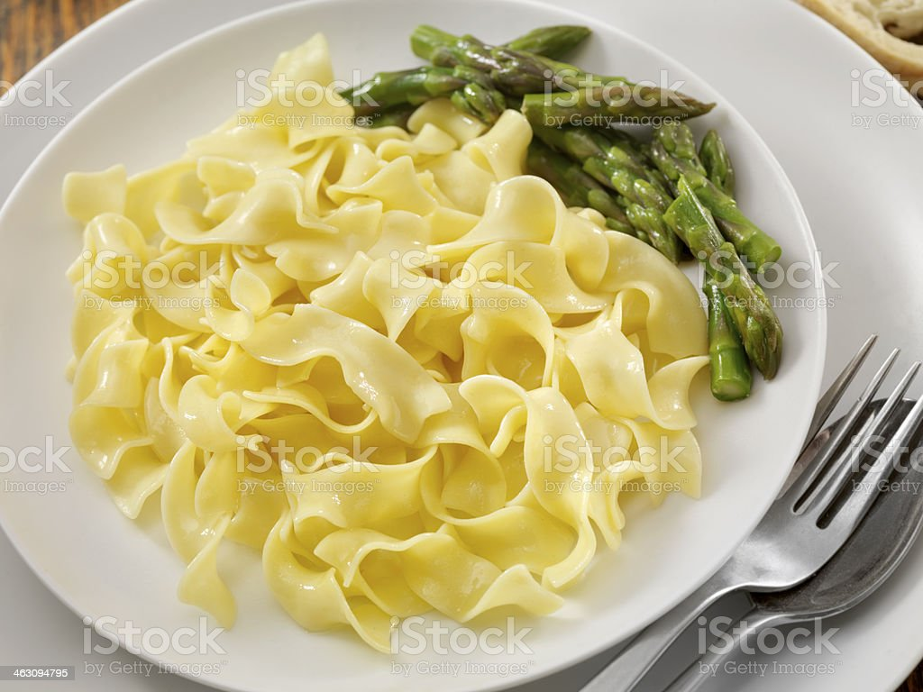 Egg Noodles royalty-free stock photo