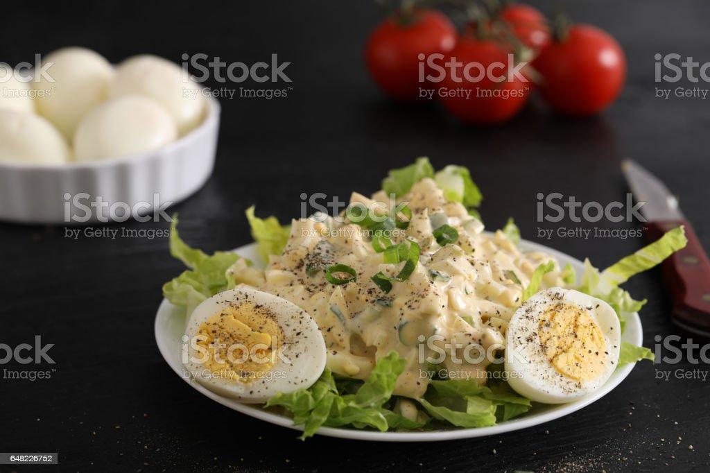 Egg Salad Salad stock photo