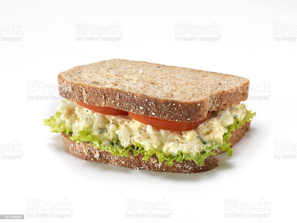 Egg Salad Sandwich royalty-free stock photo