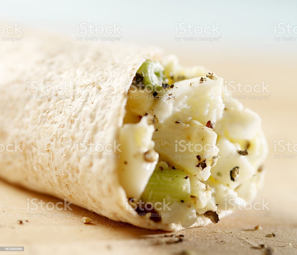 Egg Salad Sandwich royalty-free stock photo