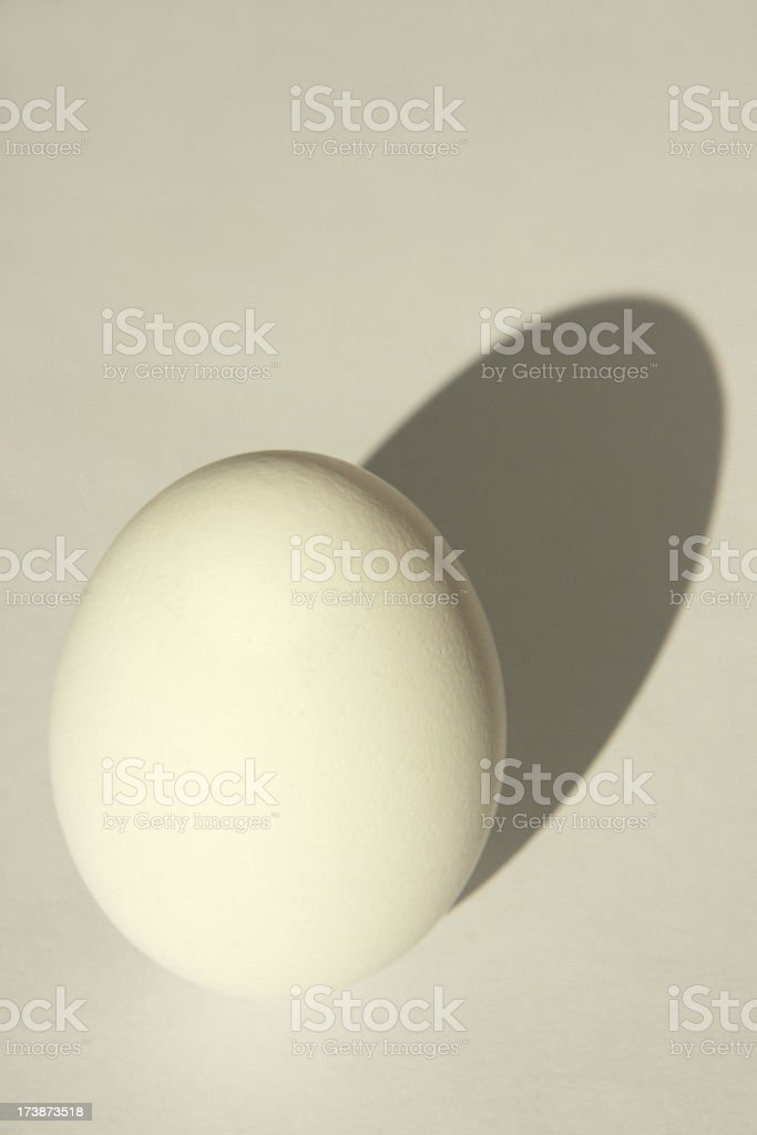 Egg Shadow Eggshell Texture royalty-free stock photo