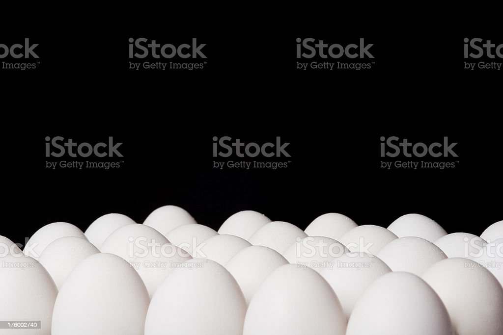 Egg surface with copyspace royalty-free stock photo