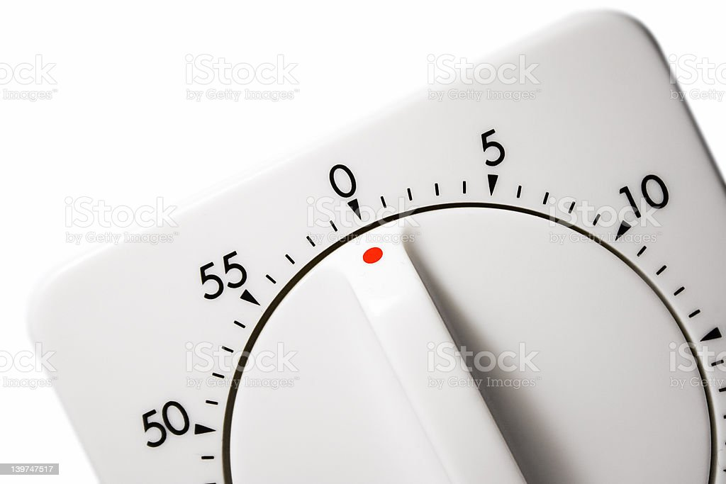 Egg Timer (Close View) royalty-free stock photo