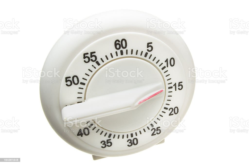 Egg Timer stock photo