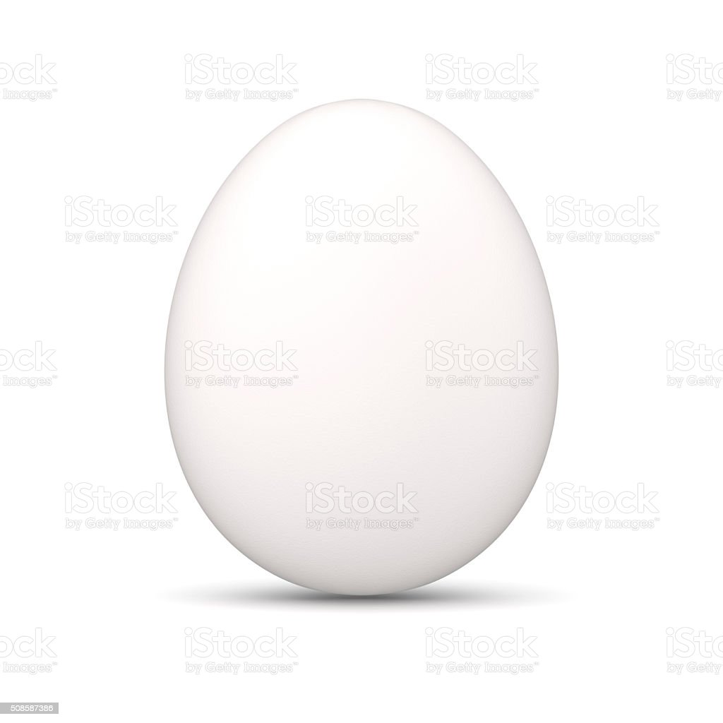 Egg, White stock photo