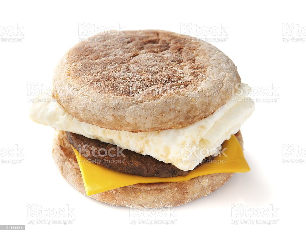 Egg White Sandwich stock photo