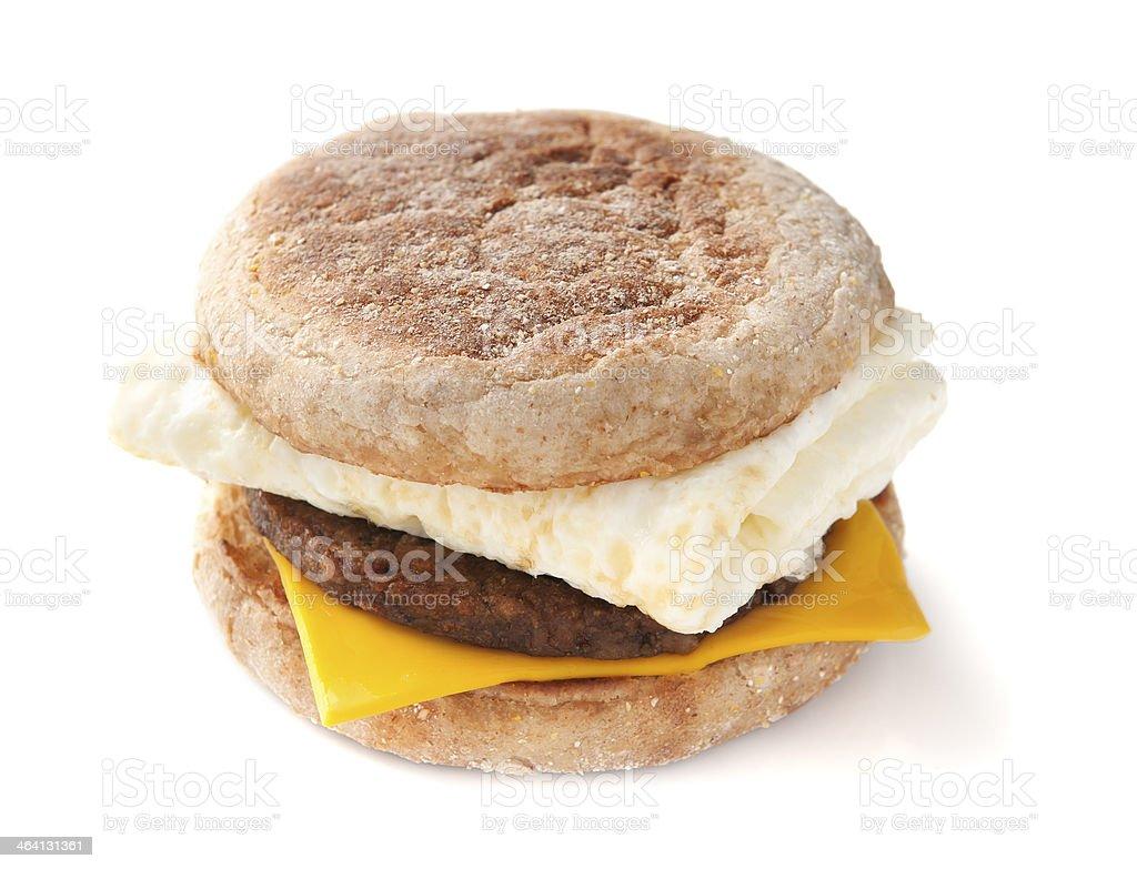 Egg White Sandwich stock photo