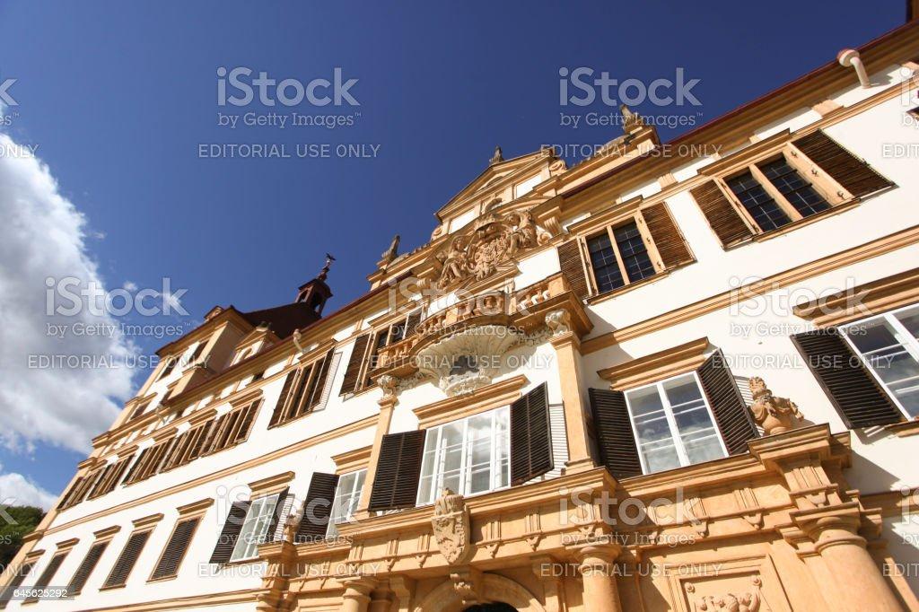 Eggenberg Castle Graz stock photo