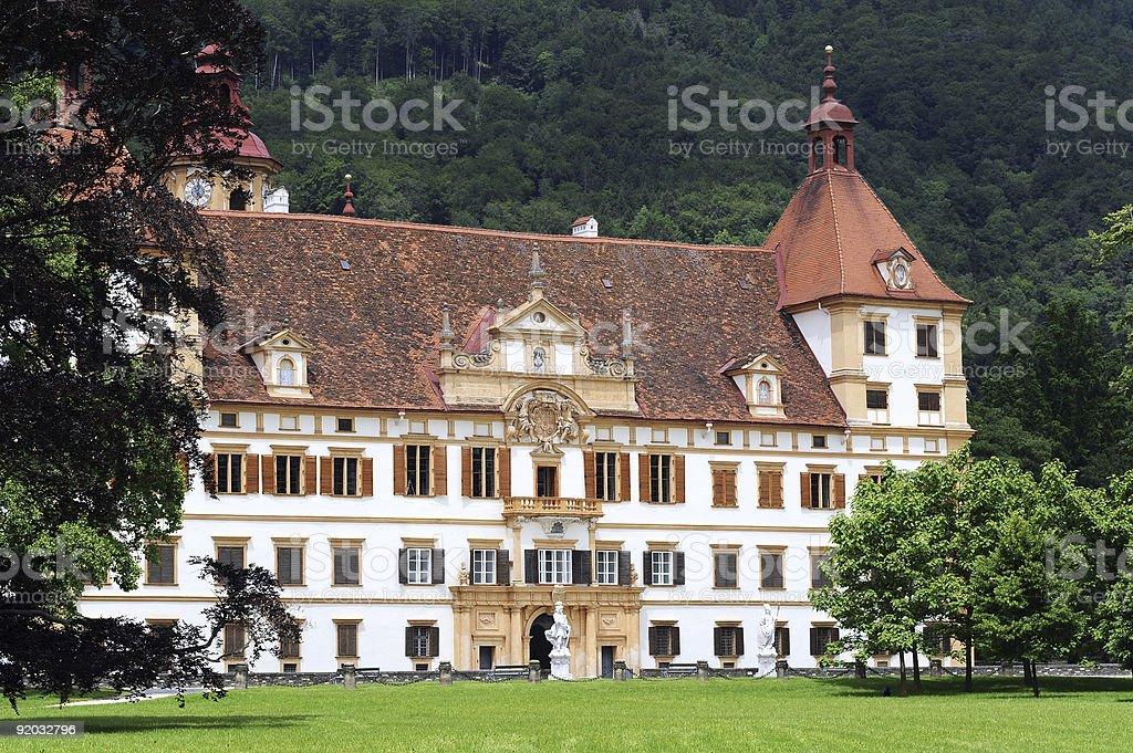Eggenberg castle in Graz royalty-free stock photo