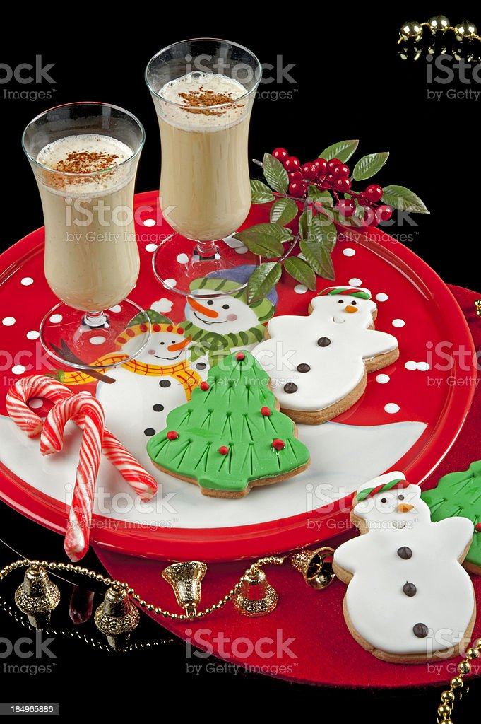 Eggnog royalty-free stock photo