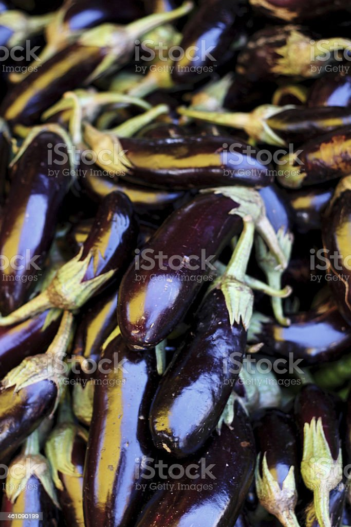 Eggplant Background royalty-free stock photo
