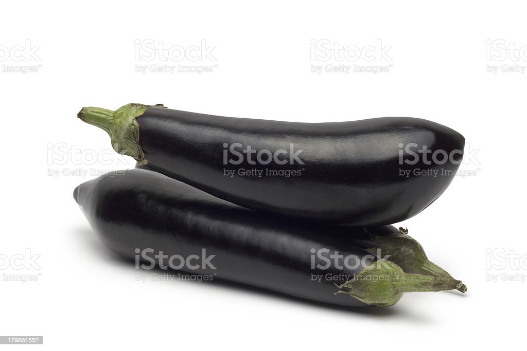 eggplant or aubergine vegetable royalty-free stock photo