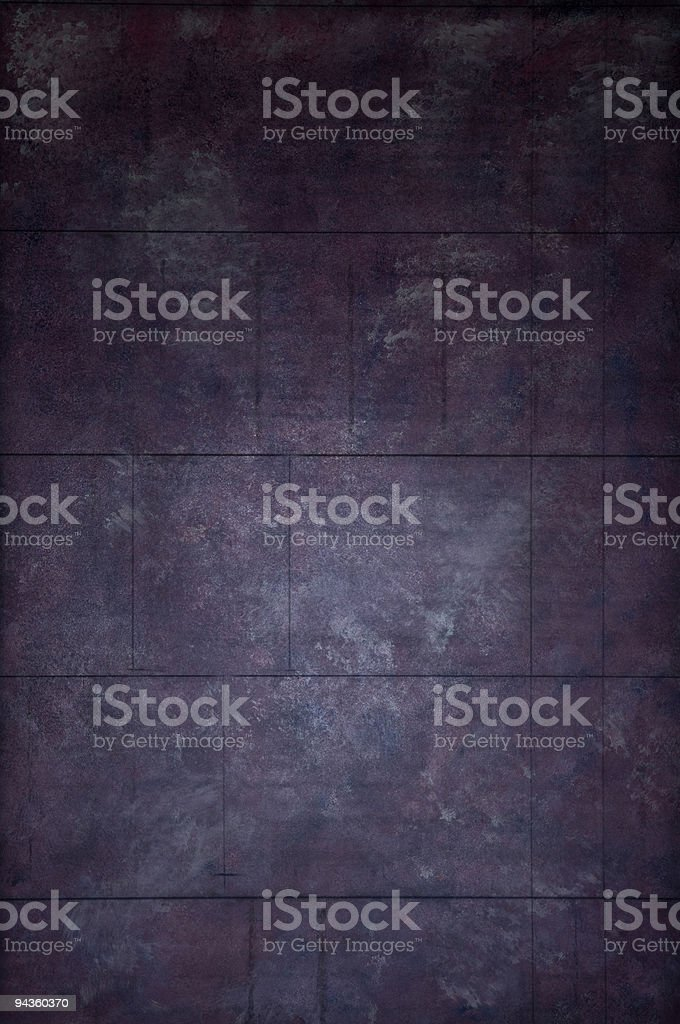 Eggplant painted Wall royalty-free stock photo