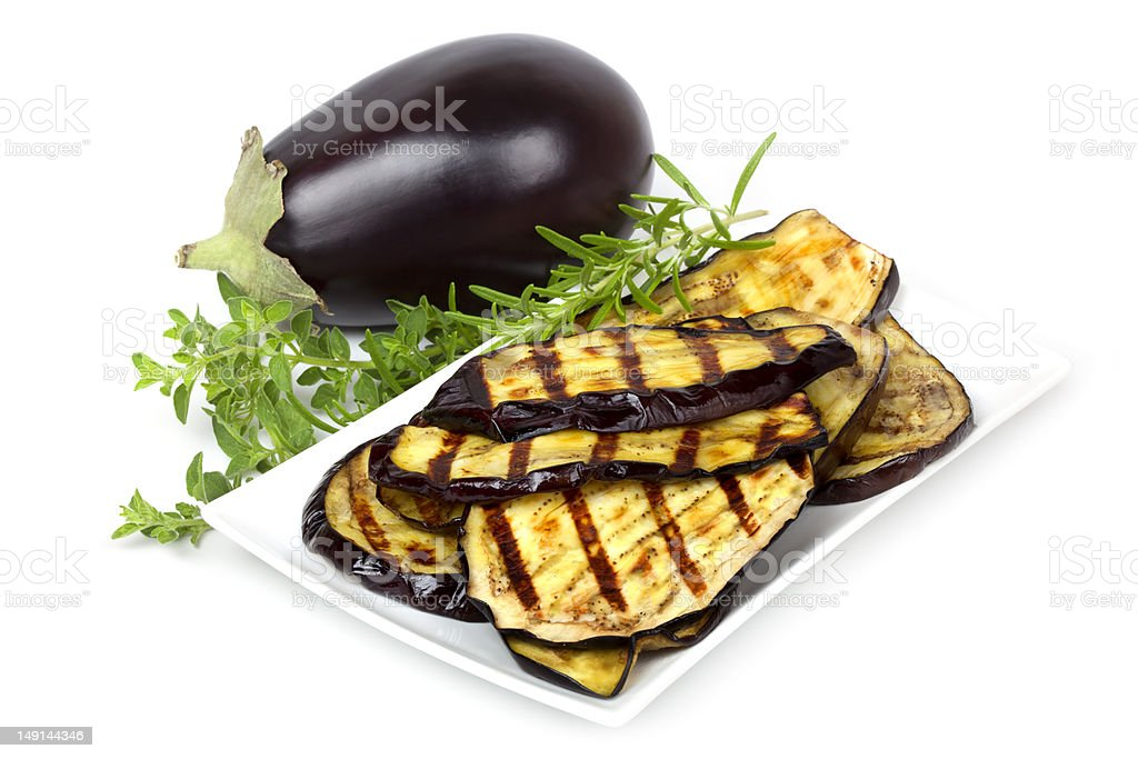 Eggplant royalty-free stock photo