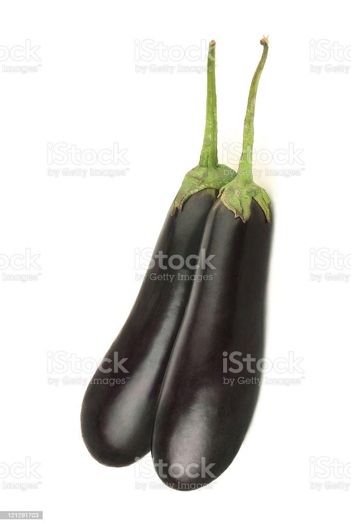 Eggplant vegetable stock photo