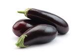 Eggplants isolated