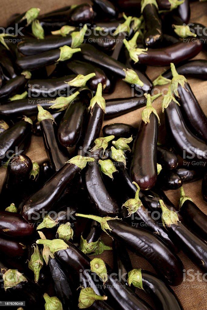 eggplants royalty-free stock photo