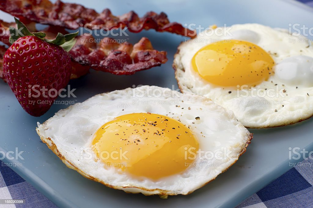 Eggs and Bacon royalty-free stock photo
