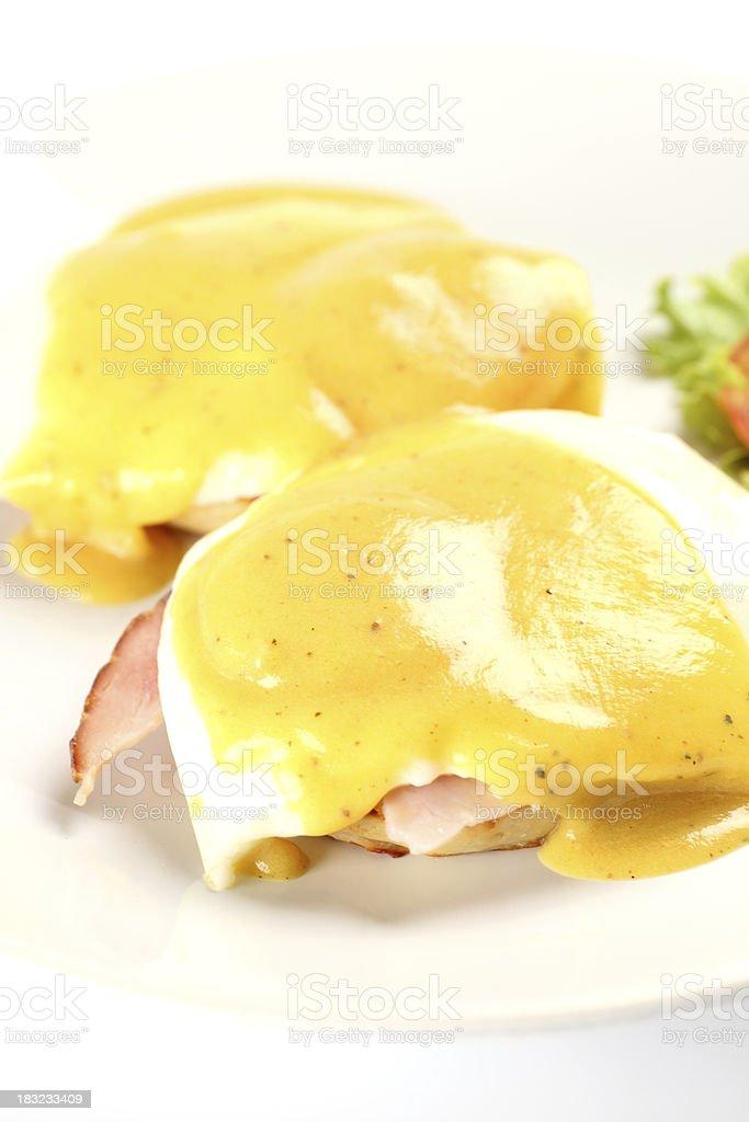 Eggs Benedict royalty-free stock photo