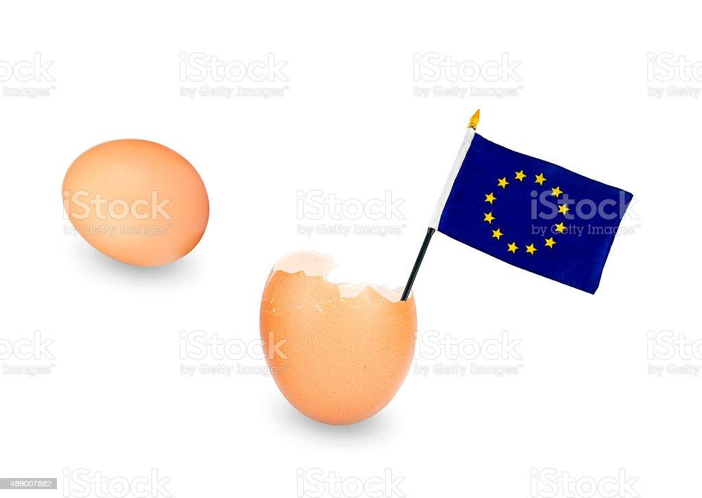 Eggs EU royalty-free stock photo