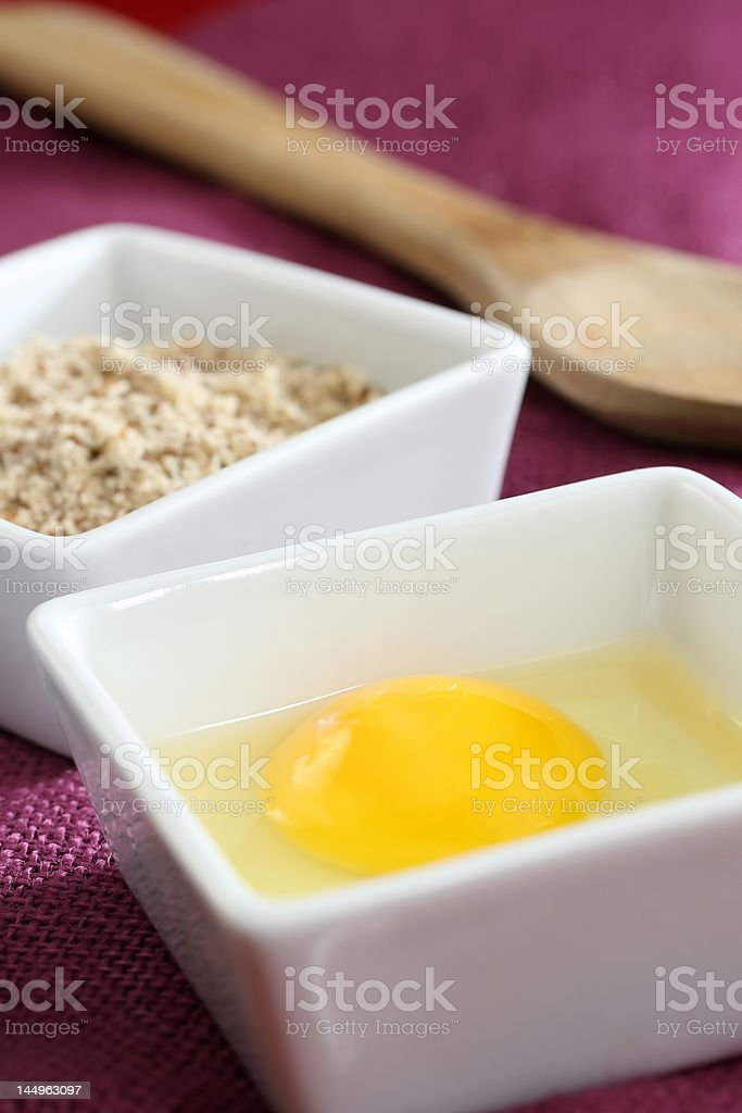 Eggs for breakfast royalty-free stock photo
