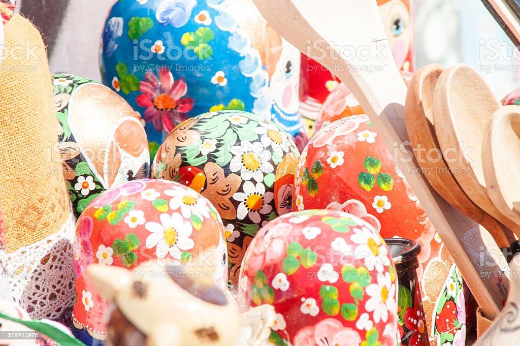 eggs, handmade, fair stock photo
