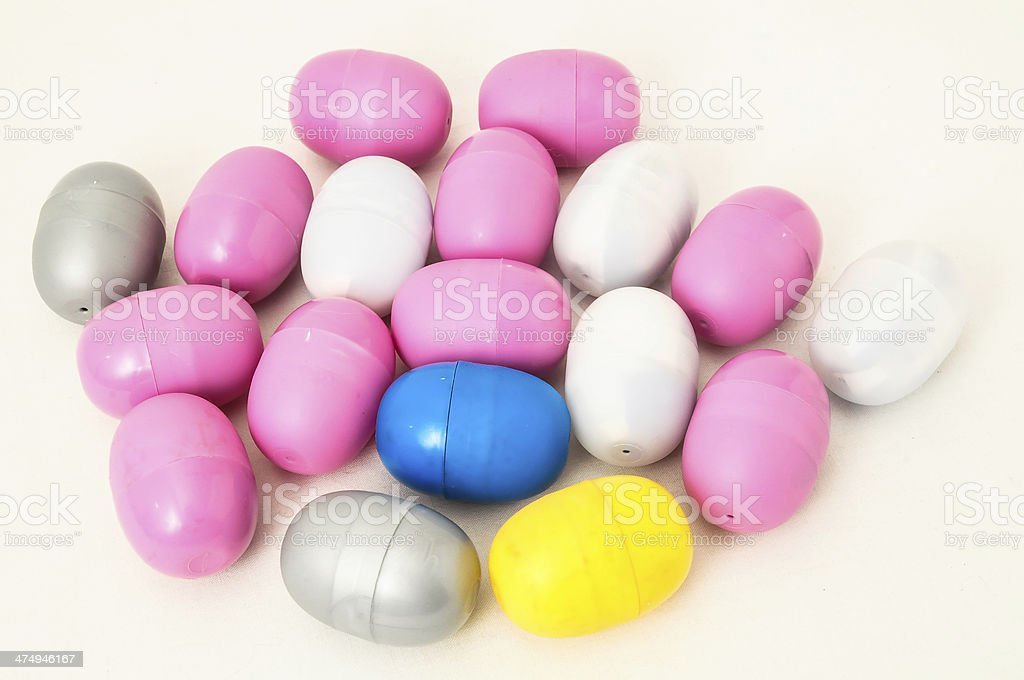 Eggs of a Slot Machine royalty-free stock photo