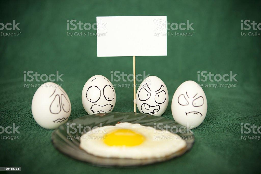 Eggs. royalty-free stock photo