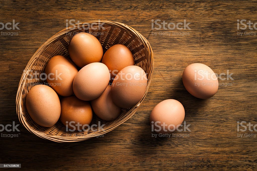 Eggs stock photo