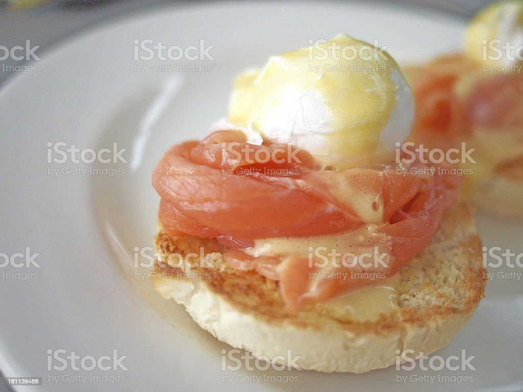 Eggs Royale Landscape royalty-free stock photo