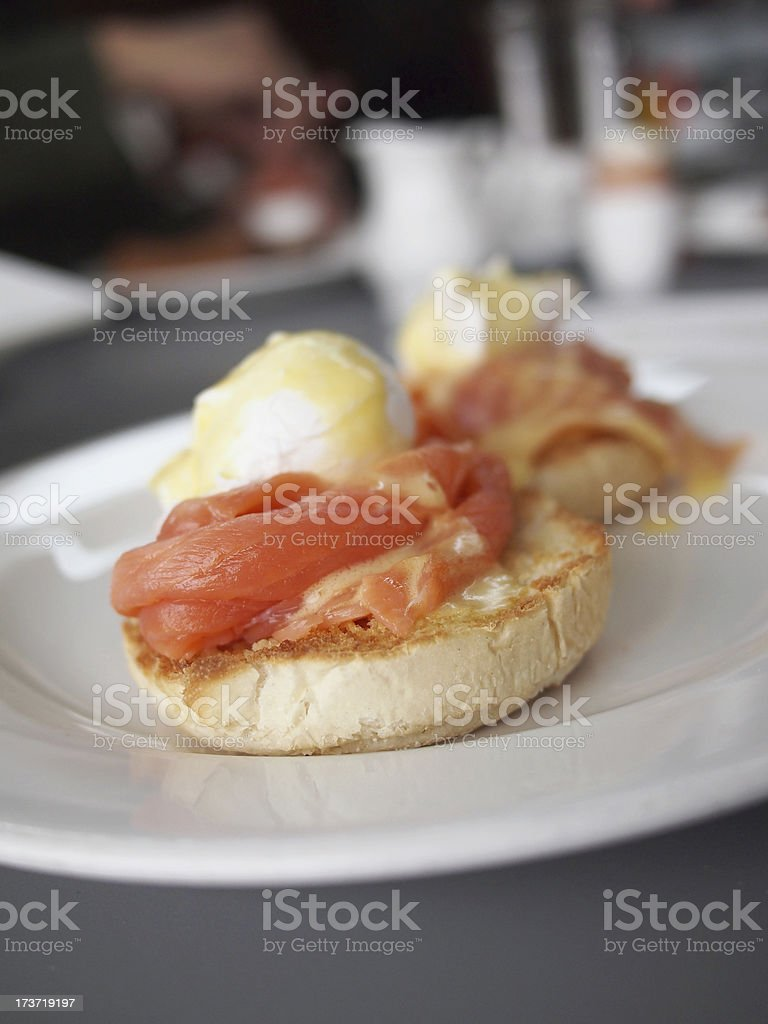 Eggs Royale royalty-free stock photo