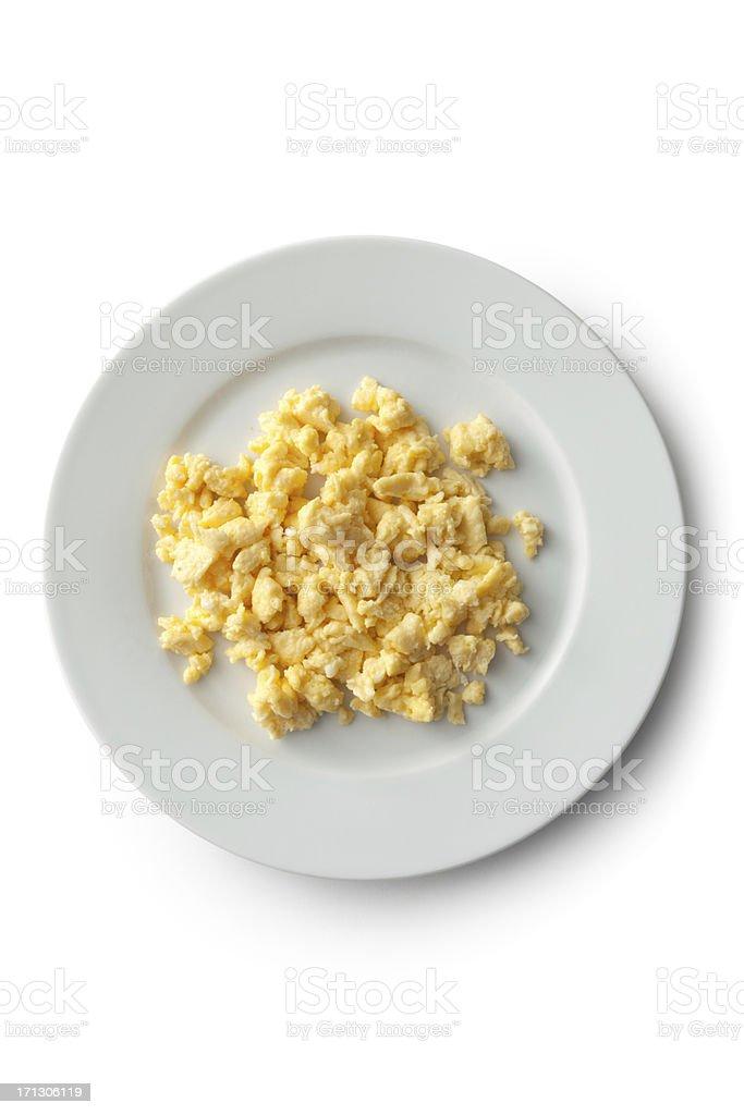 Eggs: Scrambled Egg stock photo
