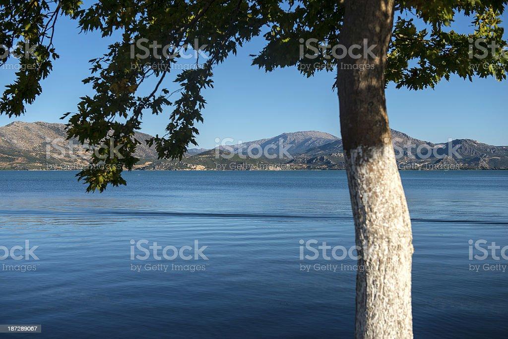 Egirdir Lake stock photo