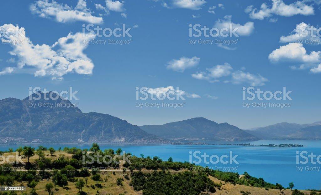 Egirdir lake-Isparta stock photo