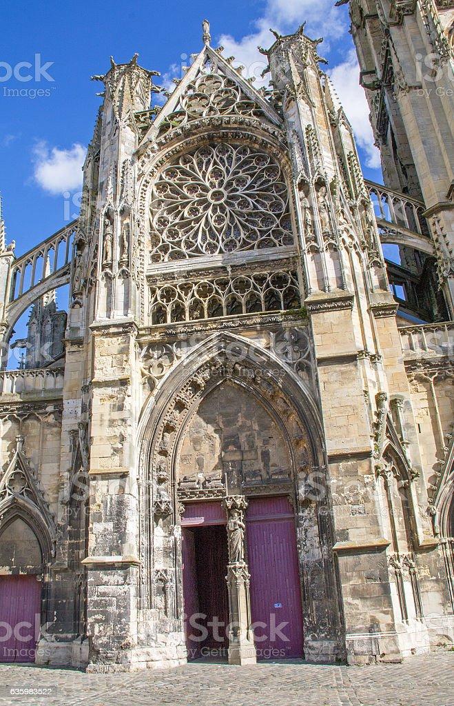 Eglise Saint Jacques, Dieppe, Seine maritime, Normandie stock photo